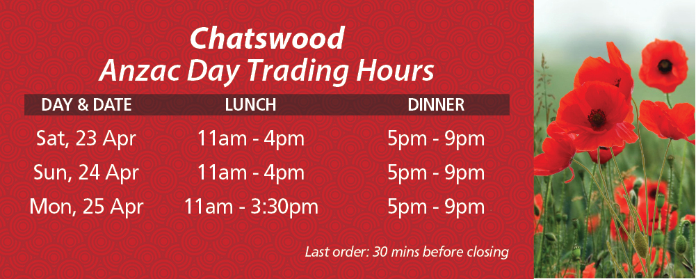 anzac day trading hours - photo #25
